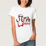 Brunettes in Bikinis - Girls Weekend Fun! T-Shirt