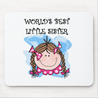 Brunettte Best Little Sister Mouse Pad