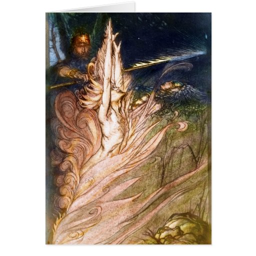 Brunhilde Notecard Stationery Note Card