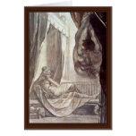 Brunhilde Observed Gunther,  By Füssli Johann Hein Greeting Cards
