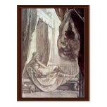 Brunhilde Observed Gunther,  By Füssli Johann Hein Postcards