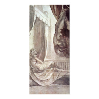 Brunhilde Observed Gunther,  By Füssli Johann Hein Full Color Rack Card