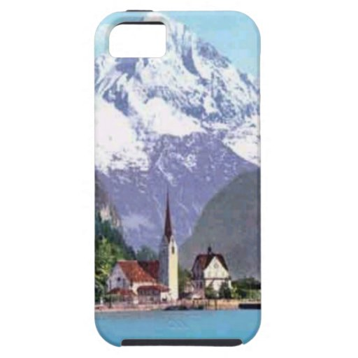 Brunnen, Lake Lucerne iPhone 5 Covers
