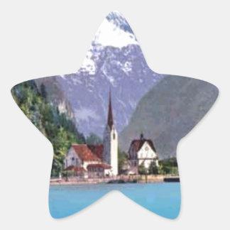 Brunnen Lake Lucerne Sticker