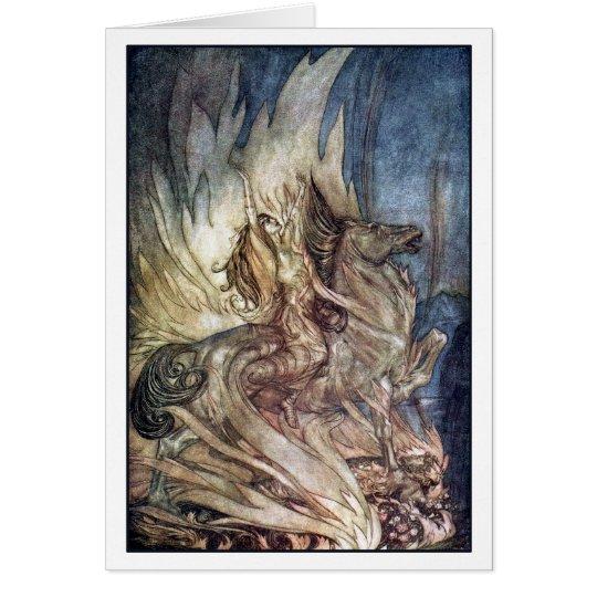 Brünnhilde on Grane Card