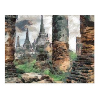 Bruno Barbier Ruins Thailand Post Cards