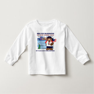 Bruno in New York City, USA Toddler T-shirt