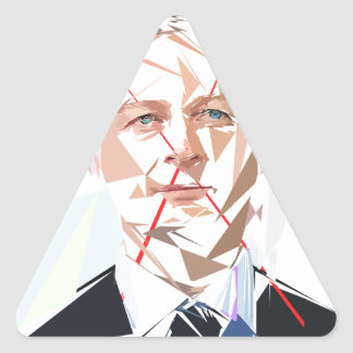 Bruno Lemaire Triangle Sticker