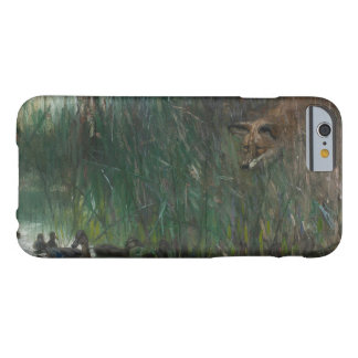 Bruno Liljefors - Flock of Ducks and Sneaky Fox Barely There iPhone 6 Case