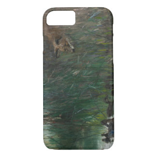 Bruno Liljefors - Flock of Ducks and Sneaky Fox iPhone 8/7 Case