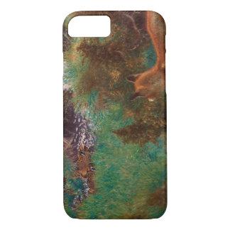 Bruno Liljefors - Fox Stalking Wild Ducks iPhone 8/7 Case
