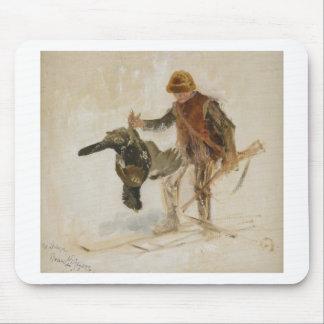 Bruno Liljefors Juvenile Grouse Hunter Study 1924 Mouse Pad