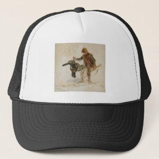 Bruno Liljefors Juvenile Grouse Hunter Study 1924 Trucker Hat
