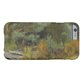 Bruno Liljefors - Scent Hounds at Fence Barely There iPhone 6 Case
