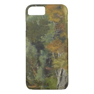 Bruno Liljefors - Scent Hounds at Fence iPhone 7 Case