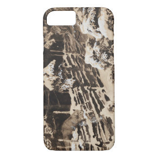 Bruno Liljefors - Winter Scene with Hunter and Fox iPhone 8/7 Case