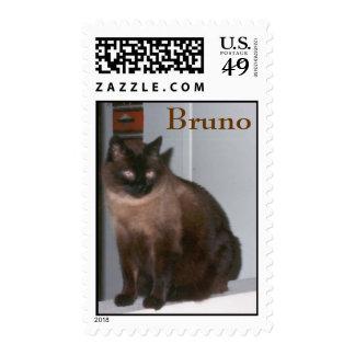 Bruno Postage Stamps