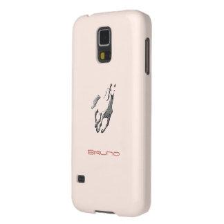 Bruno's Samsung Galaxy s5 Wild Horse brown cover