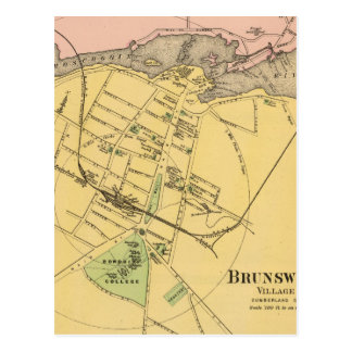 Brunswick, Topsham 2 Postcard