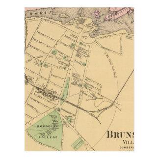Brunswick, Topsham Postcard