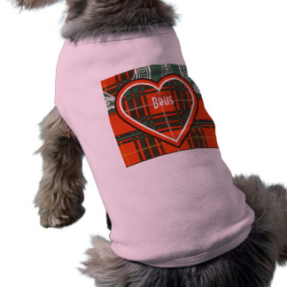 Brus clan Plaid Scottish kilt tartan T-Shirt