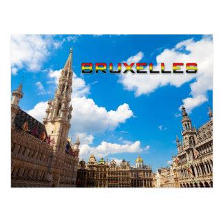 Bruselas 01E Postal