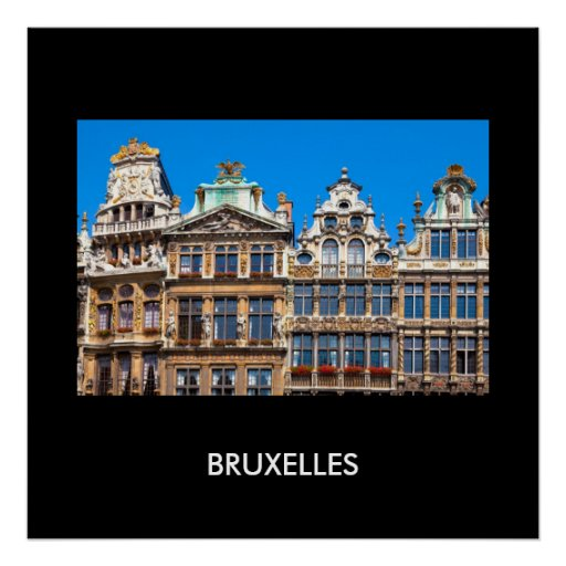 Bruselas 02B Póster
