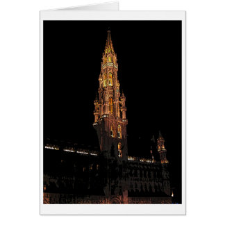 Bruselas en la noche