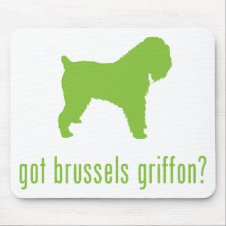 Bruselas Griffon Alfombrilla De Ratón