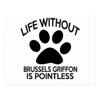 BRUSELAS GRIFFON.DESIGNS POSTALES