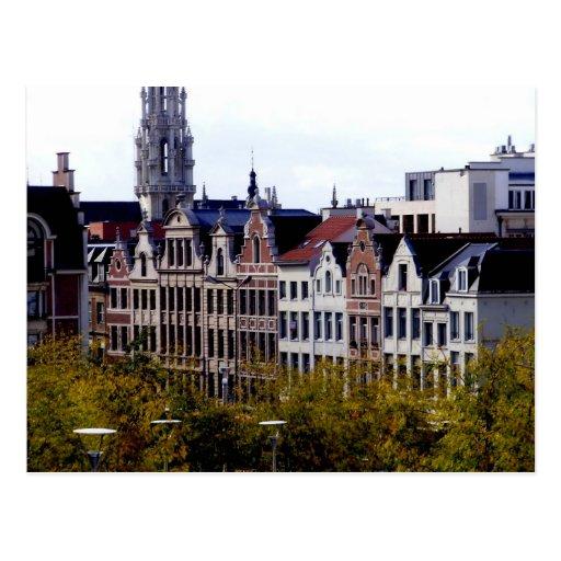 Bruselas Tarjeta Postal