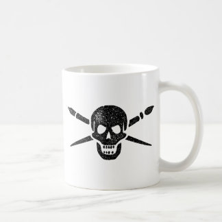 Brush and Bones Coffee Mug