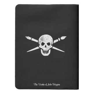 Brush And Bones Moleskin Notebook Covers