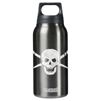 Brush and Bones 10 Oz Insulated SIGG Thermos Water Bottle