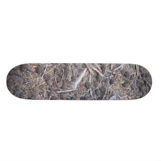 Brush and Pinecones Skateboard Deck