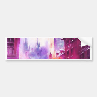 brush art painting.jpg bumper sticker