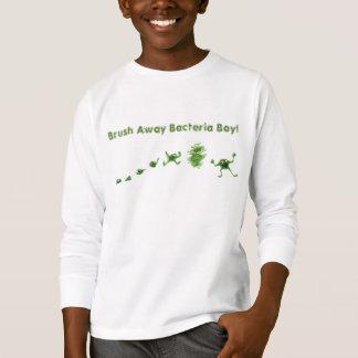 """Brush Away"" Bacteria Boy® Kid's T-shirt"