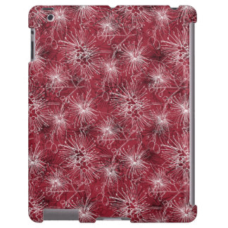 Brush cherry lilly-pilly floral iphone case