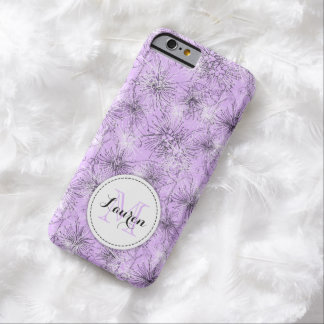 Brush cherry lilly-pilly floral lilac iphone case