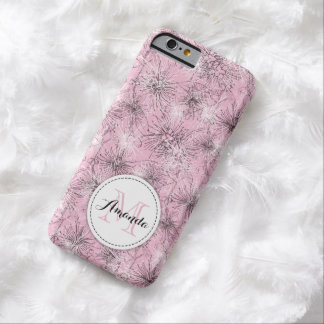 Brush cherry lilly-pilly floral pink iphone case