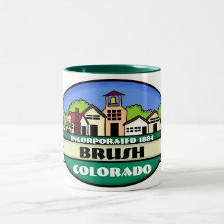 Brush Colorado small town coffee mug
