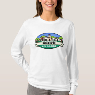 Brush Colorado small town ladies hoodie