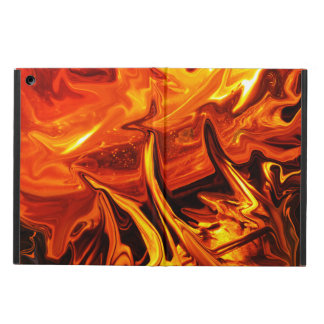 Brush Fire Abstract Art Cover For iPad Air