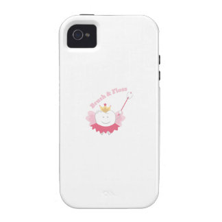 Brush & Floss iPhone 4/4S Cover