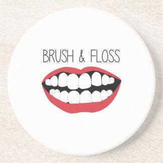Brush & Floss Coasters