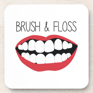 Brush & Floss Coaster