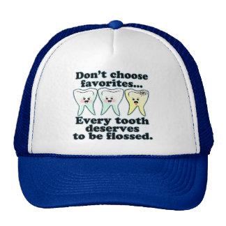 Brush & Floss Dental Humor Trucker Hat