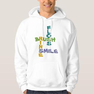Brush Floss Rinse Smile Hoodie