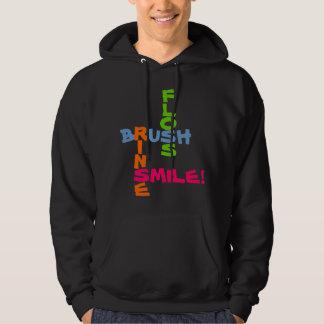 Brush Floss Rinse Smile Pullover