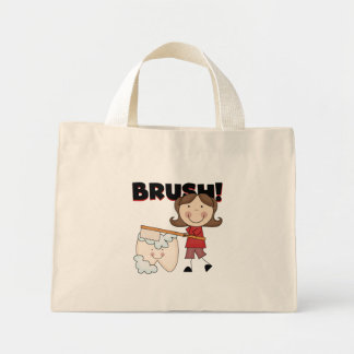 BRUSH - Girl With Tooth Tshirts and Gifts Tote Bag